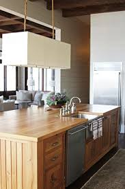 Modern Wooden Kitchen Designs Awesome Beach Kitchen Designs With Island Design Ideas Modern