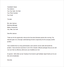 Collection of Solutions Thank You Letter After Interview Marketing Manager For Format Sample