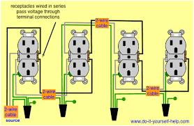 house wiring series simple wiring diagram wiring diagram receptacles in series electrical diy wire square d control wiring house wiring series