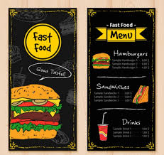 Free Food Menu Template Adorable Top 48 Free Restaurant Menu PSD Templates In 48 Colorlib