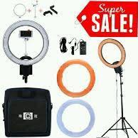 ring light for makeup artist. ringlight flash cn-r640 led paket plus light stand \u0026 tas carry bag aksesoris ring for makeup artist
