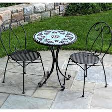 small outdoor bistro set small outdoor bistro set mosaic patio table big lots small space outdoor bistro set