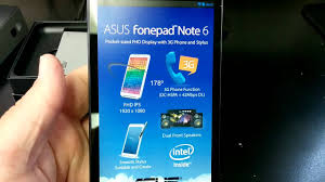 ASUS FONEPAD NOTE FHD6 ME560CG Unboxing ...