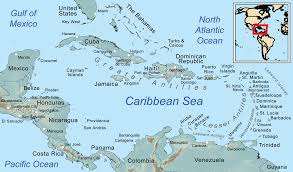 Caribbean Islands Comparison Chart Comprehensive Map Of The Caribbean Sea And Islands