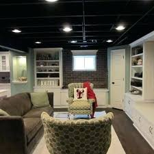 Unfinished basement ceiling ideas Ceiling Lighting Unfinished Basement Ceiling Ideas To Create Outstanding Design With Appearance Lighting Nativeasthmaorg Unfinished Basement Ceiling Ideas To Create Outstanding Design