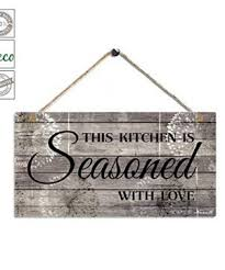 This post has 36 fun kitchen wall decor ideas that will make the space more than just a place to whip up a meal. Farmhouse Kitchen Wall Decor Farmhouse Goals