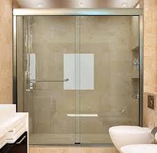 installing sliding shower doors glass