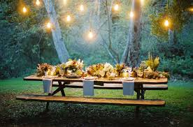 Image of: Easy Outdoor Party Decorations