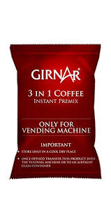 Girnar Tea Vending Machine Price Beauteous Girnar Instant Premix 48 In 48 Coffee 48kg Vending Pack Amazonin