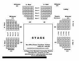 H Town Arena Theatre Seating Chart Seating Chart