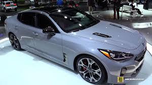 2018 kia images. plain images 2018 kia stinger  exterior and interior walkaround debut at 2017 detroit  auto show youtube intended kia images