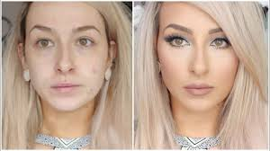long lasting flawless full coverage foundation routine full face makeup bronzer blush concealer