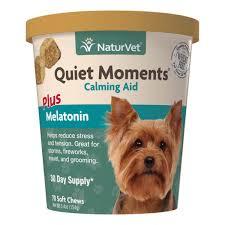 quiet moments dog calming aid soft