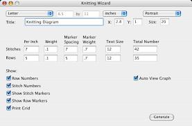 Knitting Chart Maker Knitting Wizard Software To Create Knitting Grids Knitting