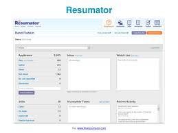 Resumator Amazing Resumator Via Wwwtheresumator