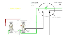 have one light on two 3 way switches adding recessed lights How To Wire One Light To Two Switches Diagram full size image wire diagram two switches one light