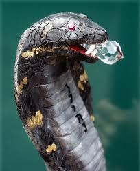 cobra head profile. Delighful Head Custom Cobra Wizard Walking Stick  Snake Head With Jewell Closeup For Profile A