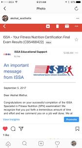 International sports sciences association (issa). Answers To Issa Final Exam