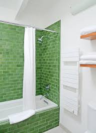 Tile shower images Glass 3x6 Green Kelp Shower Tile Design Fireclay Tile Tile School Tile Vs Glass In The Shower Which Oneu2026 Fireclay Tile