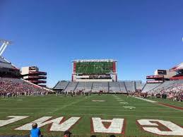 Williams Brice Stadium Section 13 Home Of South Carolina