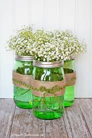 Ball Jar Decorations 60 Festive DIY St Patrick's Day Decorations for Your Home Jar 45