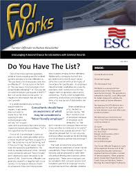 FOI works former offender initiative newsletter [2011 : July] - State  Publications - North Carolina Digital Collections