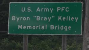 """Bridge Dedicated in Bruceton Mills to Honor Byron """"Bray"""" Kelley"""
