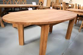new oval lens solid european oak table 200cm x 100cm wide 549 reduced to 449 100 off