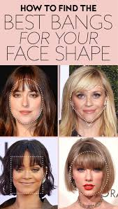 How To Find Your Hairstyle find the perfect bangs for your face shape instyle 3036 by stevesalt.us