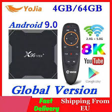 2020 Android 9.0 TV Box X96 Max Plus Amlogic S905x3 8K Smart Media Player  4GB RAM 64GB ROM X96Max Set top Box QuadCore 5G Wifi|Set-top Boxes