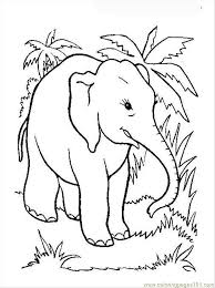 Elephant Coloring Page 12 Coloring Page Free Elephant Coloring
