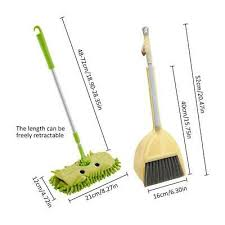 <b>Baby Mini House</b> Sweeping Cleaning Toy Combination - Child Mop ...
