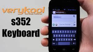 verykool s352 Keyboard - YouTube