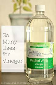 Make sure you have white vinegar on hand for all of these many uses for  vinegar in the home. I'm sharing my top 15 favorite ways to use it.
