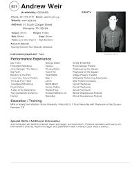 Modeling Resume Template Gorgeous Modeling Resume No Experience Foodcityme