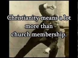 Billy Sunday Quotes: Is church enough? - YouTube