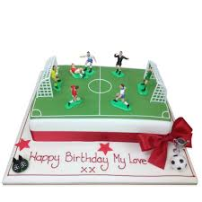 Football Pitch Cake Birthday Cakes The Cake Store