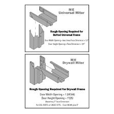 Decorating hollow metal door frames pictures : Hollow Metal Frames | Crawford Door & Dock