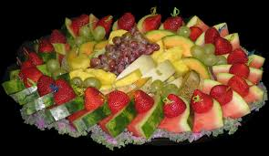 Decorated Fruit Trays catered fruit bowls Small 100100 people Large 100100 people 18