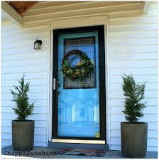 my sister made this from an old screen door hang hook hanging a wreath on glass full size of security how to metal storm curtain height window ha