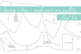 Bra Patterns Enchanting Bra Making How To DIY Your Pattern Part 48 Measure Twice Cut Once