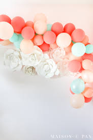 balloon garland makes a perfect decoration for any celebration learn how to make a balloon garland the easy way