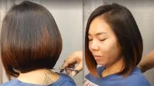 Haircut Hair Style ตดผมบอบ สไตล บอบเท