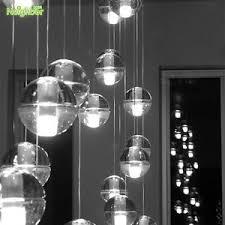 Image is loading 26drop-Meteor-Glass-Globe-Pendant-Lamp-Ceiling-Light-