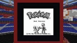 Pokemon Red in Vanilla Minecraft [1.11] - YouTube