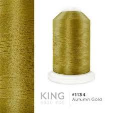 Autumn Gold 1134 Iris Trilobal Polyester Thread 5500 Yds