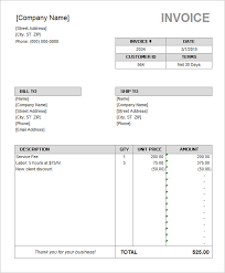 Invoice Template Excel Microsoft Rental Invoice Template Excel Apcc2017