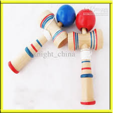 Wooden Ball On String Game 100 New Wooden Wood Game Skill Kendama Ball Children Educational 7
