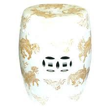 white garden stool ceramic garden seat white garden stool gold stone ceramic garden furniture white garden