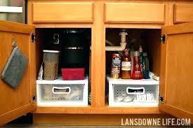under cabinet storage kitchen sink storage ideas under sink organizer  kitchen organizing the cabinet under the
